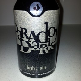 Paradox Dark Light Ale