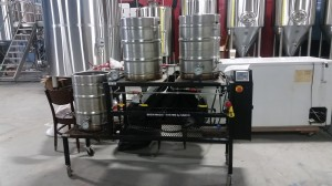 Tool Shed Brewing 10 Gallon Pilot Brewery