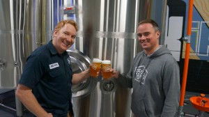 Graham Sherman (left) & Jeff Orr (right) from Tool Shed Brewing Company