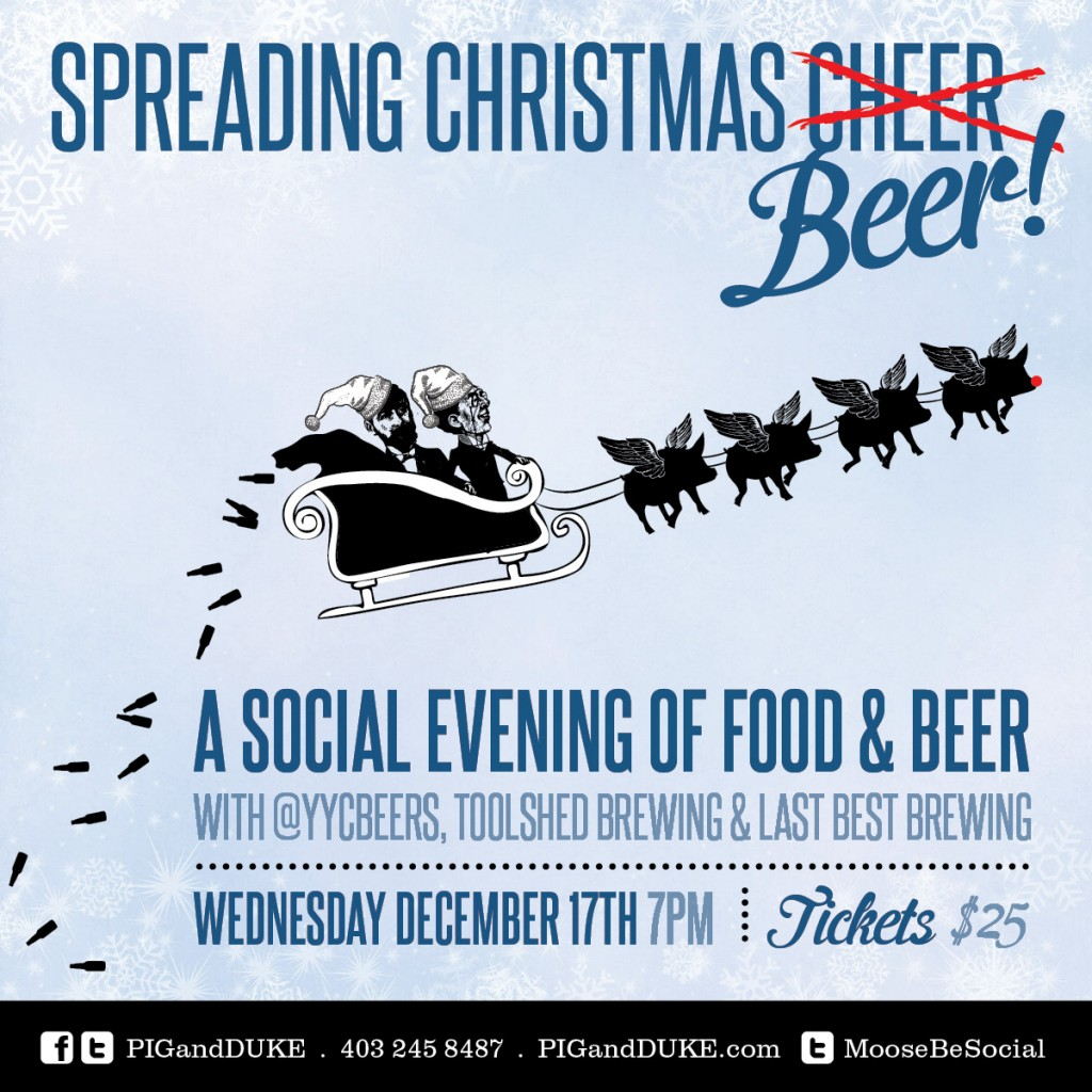 Spreading Christmas Beer