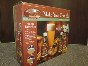 This is the beer kit that may ruin my weekend and my emotional well-being